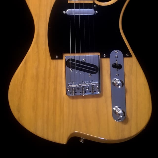Vola Vasti Butterscotch Blonde Electric Guitar Made In Japan W/Gig Bag demo Video Inside image