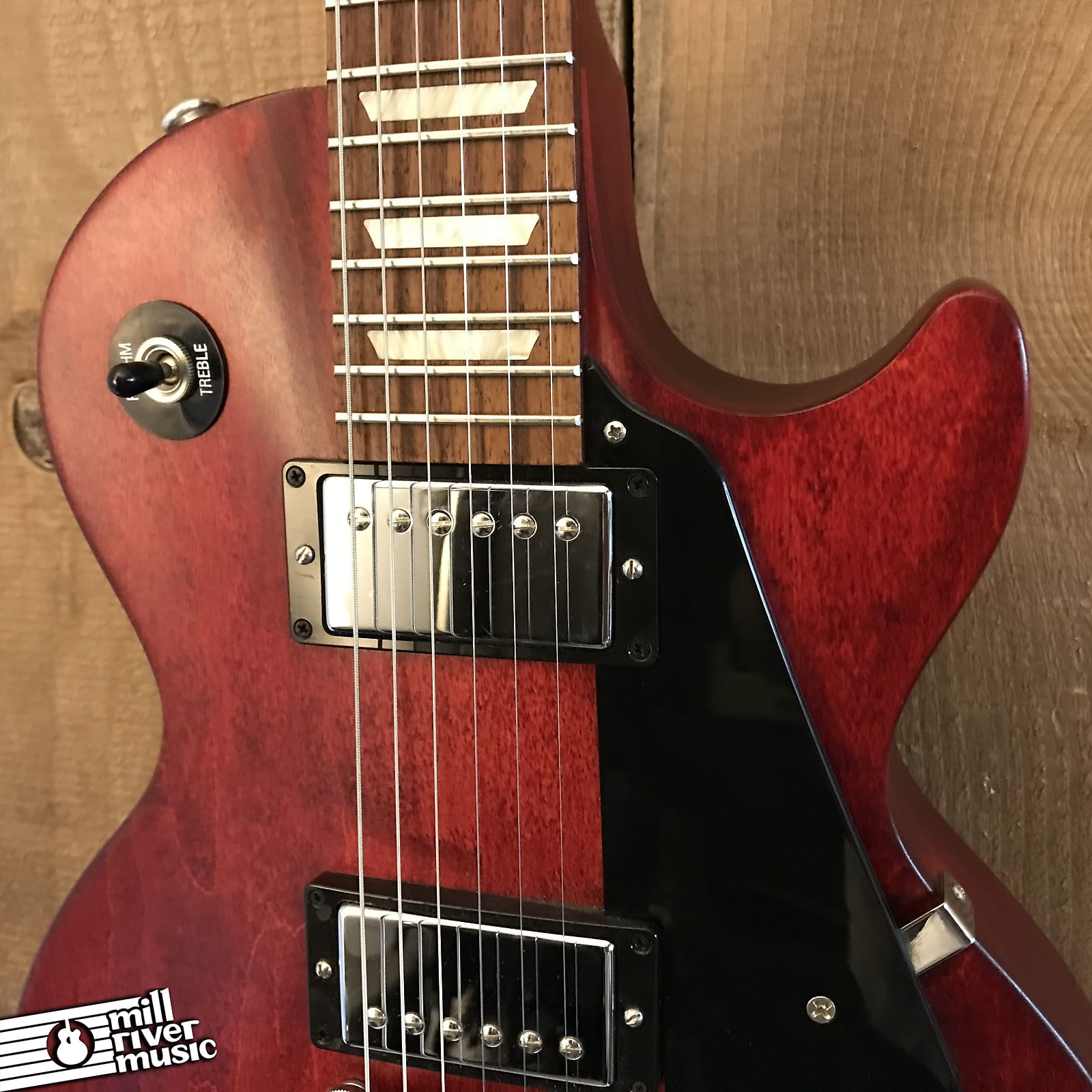 Gibson Les Paul Studio Faded Traditional Worn Cherry 2016