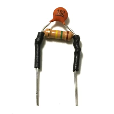 Guitar Treble Bleed Circuit Small Size for Tight Space