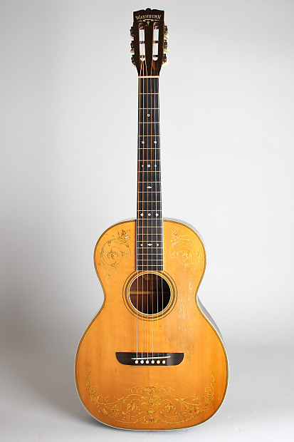 Best Electric Guitar Vst 2020 Washburn Model 5238 Flat Top Acoustic Guitar, c. 1930, ser.   Reverb