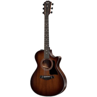 Taylor 322ce Grand Concert Acoustic Electric Guitar Shaded Edgeburst V-Class