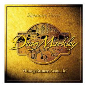 Dean Markley 2004 Vintage Bronze Acoustic Guitar Strings - Medium Light (12-54)