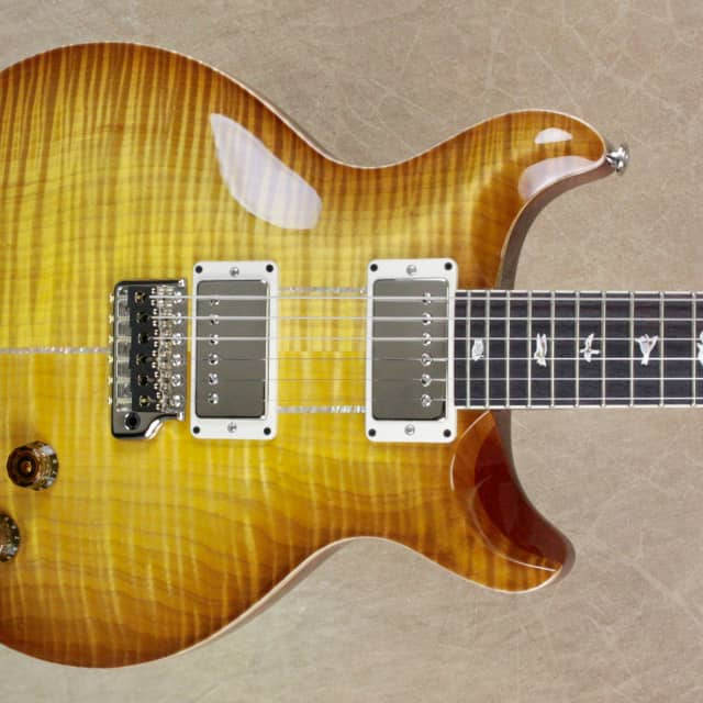 PRS Paul Reed Smith Santana Signature Livingston Lemondrop 10 Top Rosewood Neck Guitar image