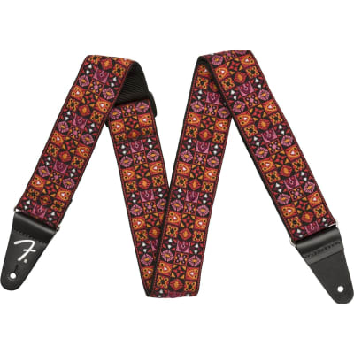 Fender Festival Strap guitar strap, red for sale
