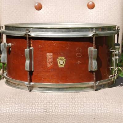"Ludwig No. 490 Pioneer 6.5x14"" 6-Lug Snare Drum 1960 - 1968"