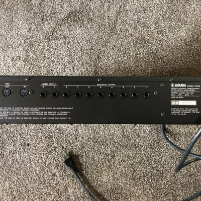 Yamaha TX802 FM Tone Generator in a rack mount package