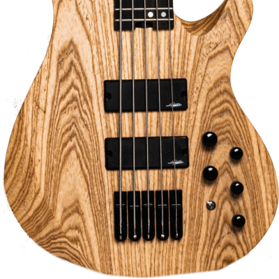 Legator NB5P Ninja Bass Five-String Standard Scale Fanned Fret Natural Ash w/Bag for sale