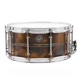 """Taye VB1465 6.5x14"""" Metalworks Series Vintage Brass Snare Drum"""