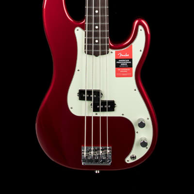 Fender American Professional Precision Bass - Candy Apple Red #15780