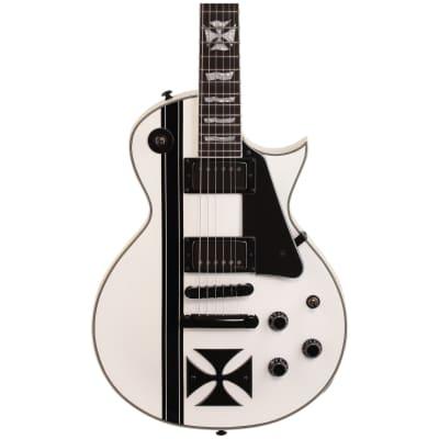 ESP LTD Iron Cross James Hetfield Signature Electric Guitar, Snow White w/ Case