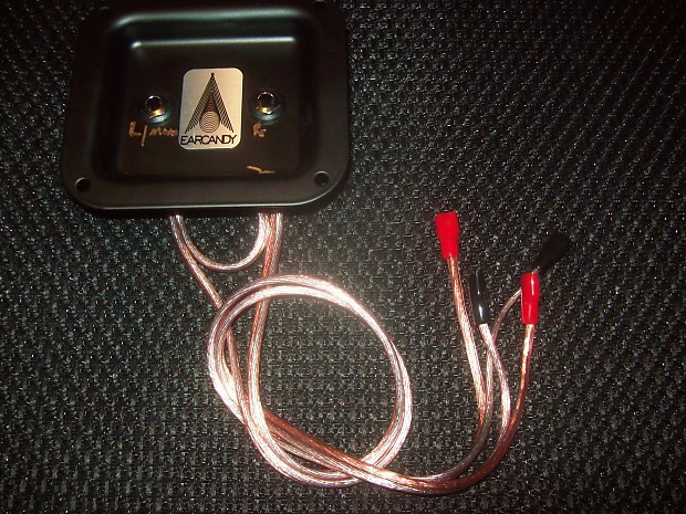 Guitar Amp Speaker Wiring Harness : Earcandy guitar or bass speaker cab combo amp wiring