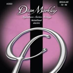Dean Markley 2503 NickelSteel Electric Guitar Strings - Regular (10-46)