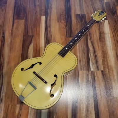 1958 Kay Archtop Blonde Acoustic Guitar for sale
