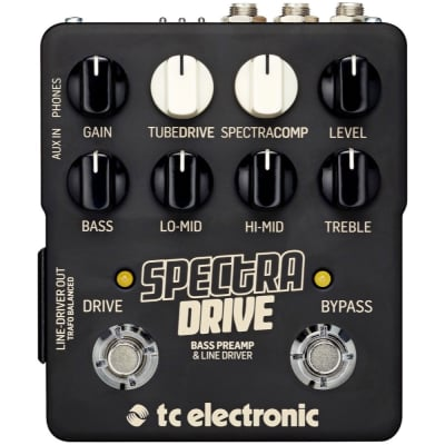 TC Electronic Spectradrive Bass Preamp Line Driver Pedal for sale