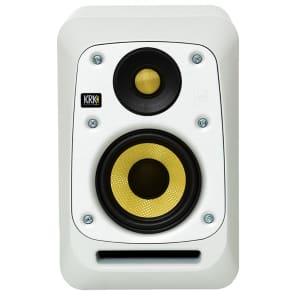 """KRK V4 S4 WN 4"""" Powered Studio Producer Mixing Mastering Monitor Speaker White"""