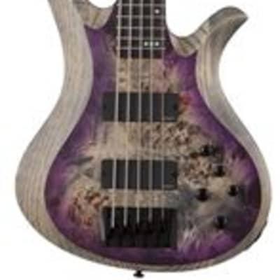 Schecter Riot 5 Bass Satin Aurora Burst