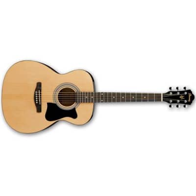 Ibanez Jampack IJVC50 Grand Concert Acoustic Guitar Package, Includes Gig Bag, Chromatic Clip-on Tuner, Guitar Strap, Accessory Pouch, Picks for sale