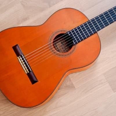 1976 Mitsuru Tamura 1500 Vintage Flamenco Nylon String Acoustic Guitar w/ Case for sale