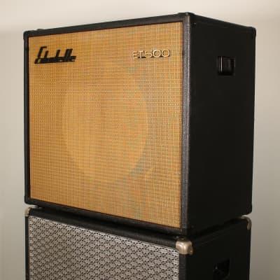18 Zoll Vintage Bass Box aus den 60er Jahren Echolette ET500 Leistungsstark und Kompakt for sale