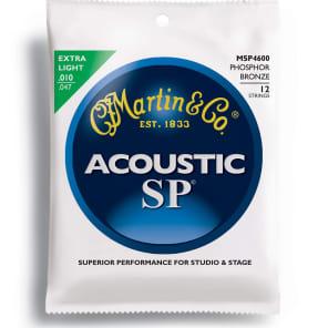 Martin MSP-4600 SP 92/8 Phosphor Bronze Extra Light 12-String Acoustic Strings