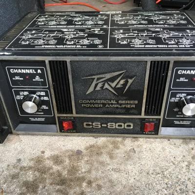 Peavey Cs--800 Power amp
