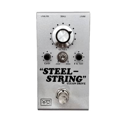 Vertex Steel String MKII Overdrive Guitar Effects Pedal - 364308 - 748252632753