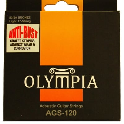 OLYMPIA AGS120 80/20 Bronze - (10-14-23w-30-39-47)-(10-14-8-12-18-27) for sale