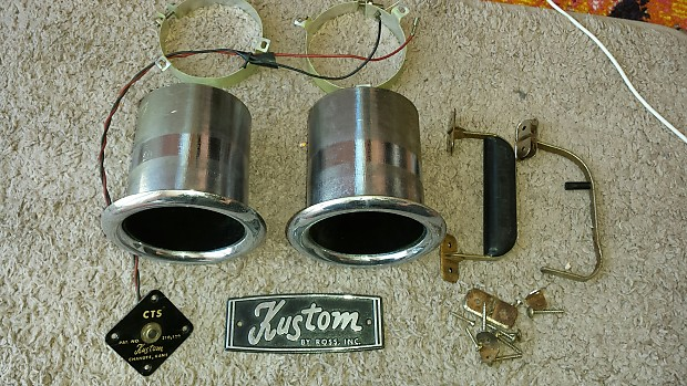 Kustom Vintage Amplifier Cabinet Parts Hardware FREE shipping | Reverb