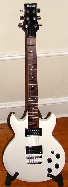 Used Ibanez GAX70 White Solid Body Guitar | Reverb