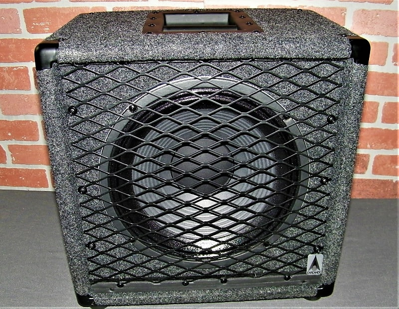 EarCandy Fuzzooka 1x12 Guitar speaker cab Angled Baffle Recessed handle  Eminence Legend V128 8Ω