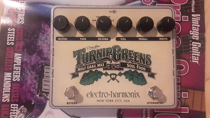 electro harmonix turnip greens multi effect pedal original reverb. Black Bedroom Furniture Sets. Home Design Ideas