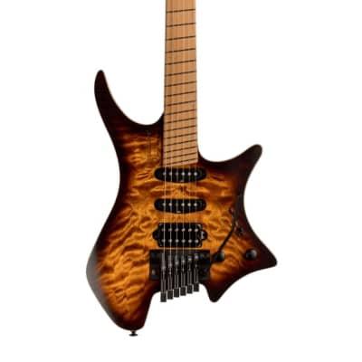 Strandberg Boden Standard 6-String Guitar | Maple Quilt Bengal Burst for sale