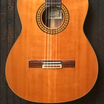 Rare 1980s Dauphin 30-C Classical Guitar w/Cutaway - Solid Cedar Top - Japan! for sale
