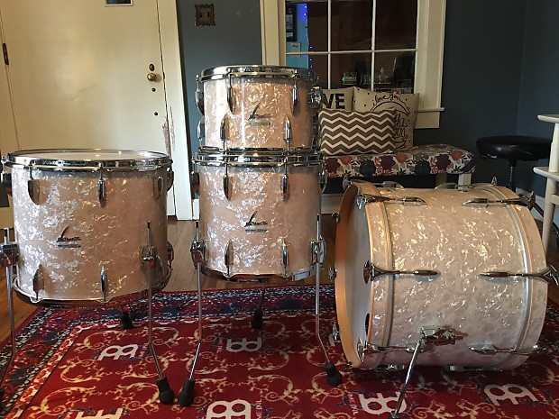 Sonor vintage series white marine pearl 4pc 12 14 16 for 14x12 floor tom