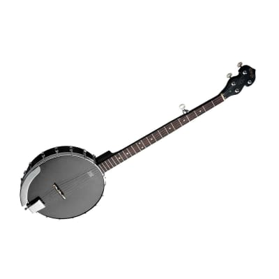 Stagg BJW-OPEN 5 Mahogany Body w/Coordinator Rod Nato Neck Open Back 5-String  Banjo for sale