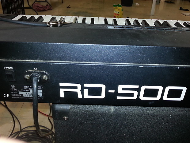 roland rd500 88 weighted key digital keyboard piano reverb. Black Bedroom Furniture Sets. Home Design Ideas