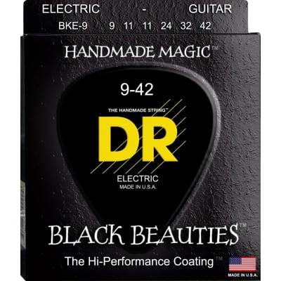 DR Strings BKE-9 Black Beauties 09-42