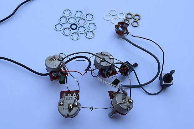 Ibanez Musician or Artist Wiring Harness LeftHanded – Ibanez Wiring Harness
