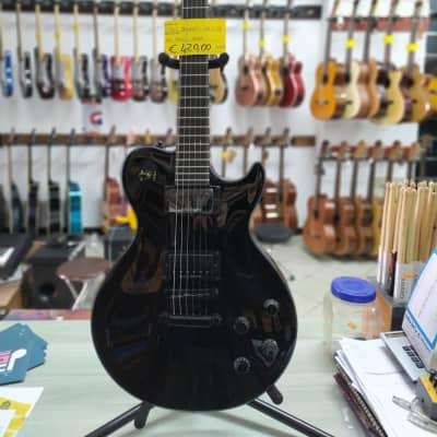 samick greg bennet Rare Samick Greg Bennett Avion AV7LTD Limited Edition Les Paul Guitar Black for sale