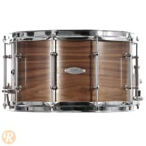 C&C 8x14 Gladstone 7 Ply Maple Snare 2012 Satin Walnut image