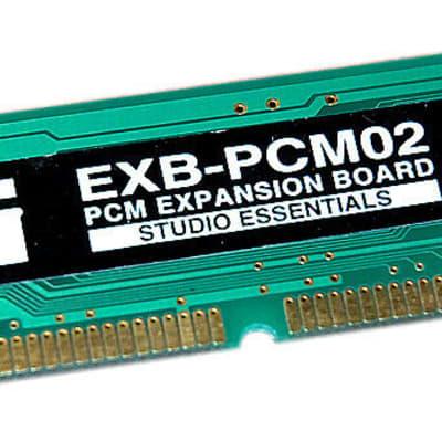 Korg EXB-PCM 2 PCM02 STUDIO ESSENTIALS TRITON STUDIO RACK KARMA