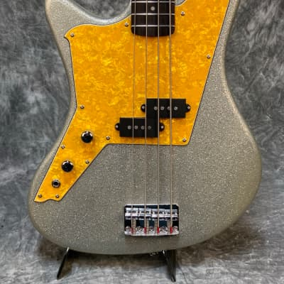 DiPinto Galaxie Bass Los StraightJackets  Silver Sparkle Left Handed for sale
