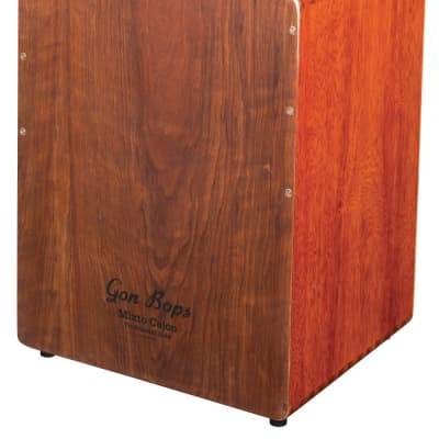 Gon Bops Mixto Cajon Drum Natural Lacquer FREE Gig Bag and Shipping | NEW | Authorized Dealer