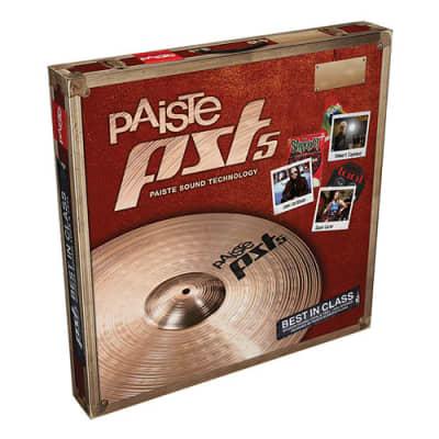 Paiste PST 5 Rock Cymbal Set (14se/16/20) - 697643304918