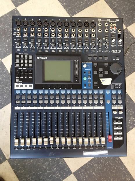 yamaha 01v. pair of (2) yamaha 01v-96 mixers with aes/ebu cards as-is/repair/broken/parts 01v