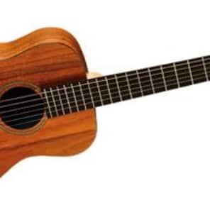 Martin LXK2 Little Martin Acoustic Guitar (Koa Pattern HPL Top) with Padded Gig Bag