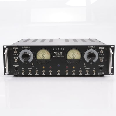 Groove Tubes Supre Stereo Unit Microphone Preamp #43741