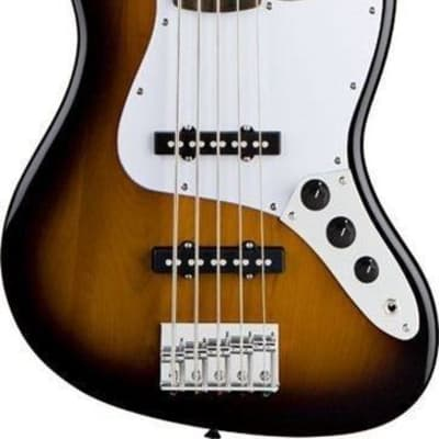 Squier Affinity Series Jazz Bass V 5-String Bass Guitar - Brown Sunburst