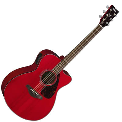Yamaha FSX800C Acoustic-Electric Guitar - Ruby Red