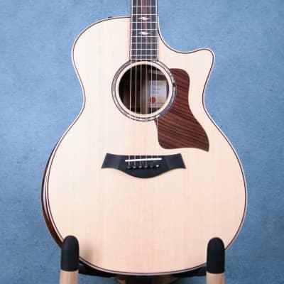 Taylor 814CE-DLX V-Class Grand Auditorium Acoustic Electric Guitar - 1110228106 for sale